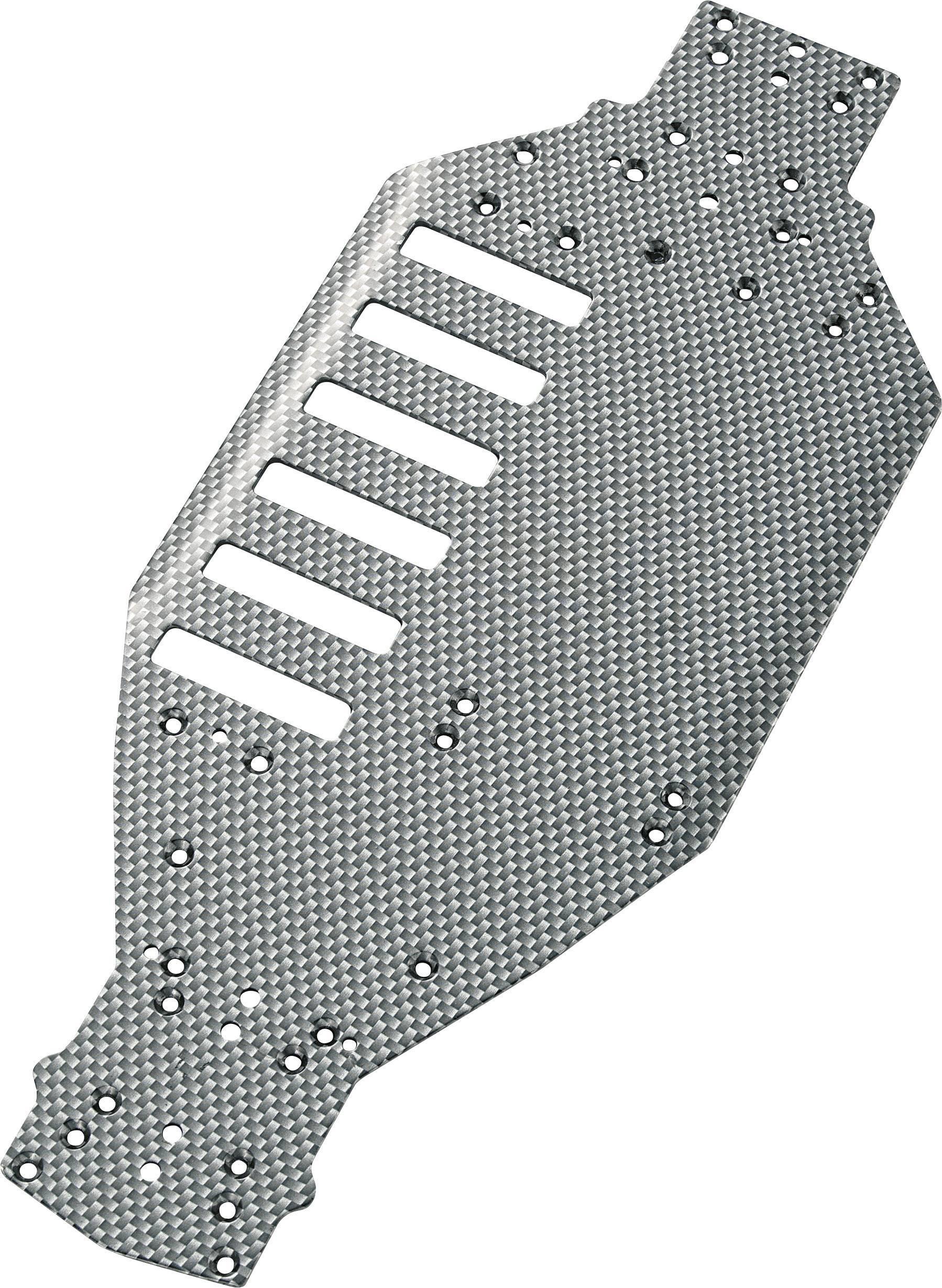 Hliníková šasi Reely Carbon EB-04L / TC-04 (511515C)