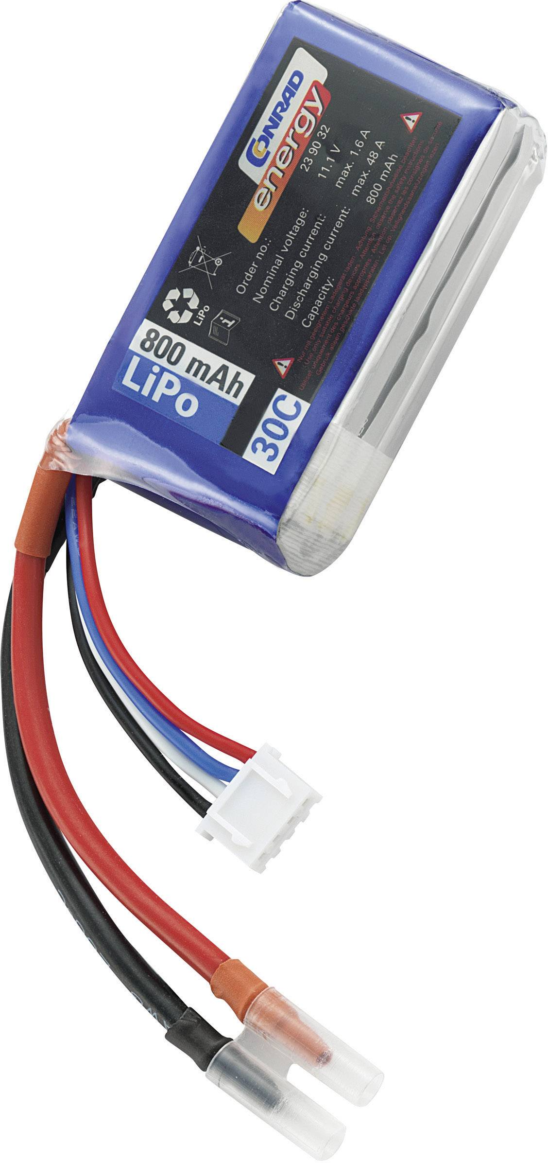 Akupack Li-Pol Conrad energy 239032, 11.1 V, 800 mAh