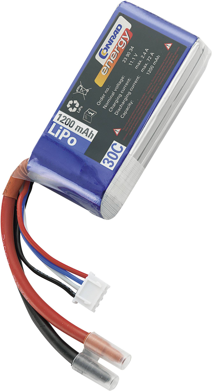 Akupack Li-Pol Conrad energy 239034, 11.1 V, 1200 mAh