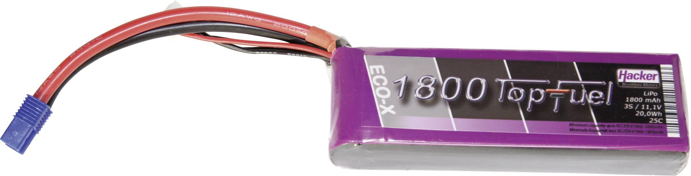 Akupack Li-Pol Hacker 21800341, 11.1 V, 1800 mAh