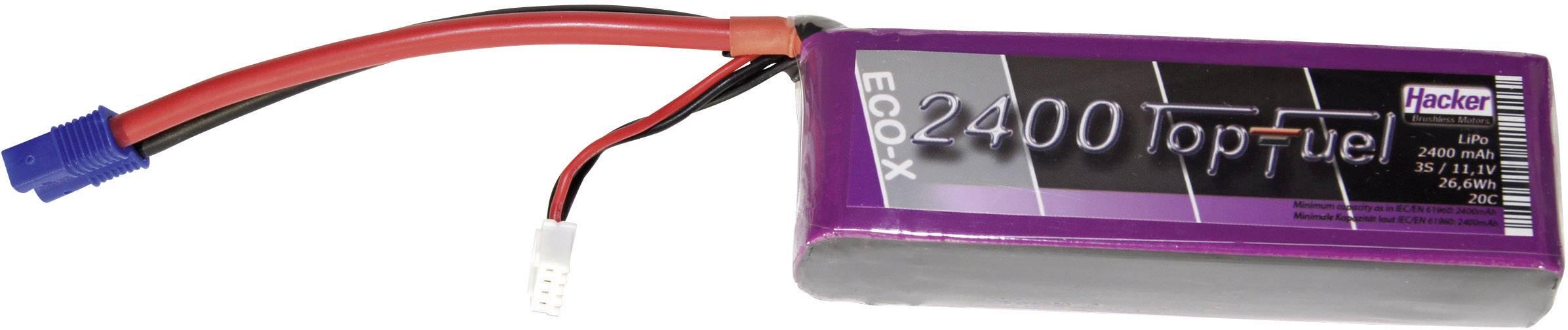 Akupack Li-Pol Hacker 22400331, 11.1 V, 2400 mAh