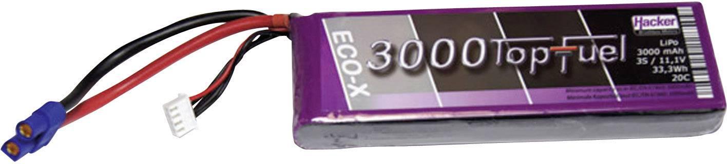 Akupack Li-Pol Hacker 23000331, 11.1 V, 3000 mAh