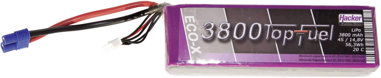 Akupack Li-Pol Hacker 23800431, 14.8 V, 3800 mAh