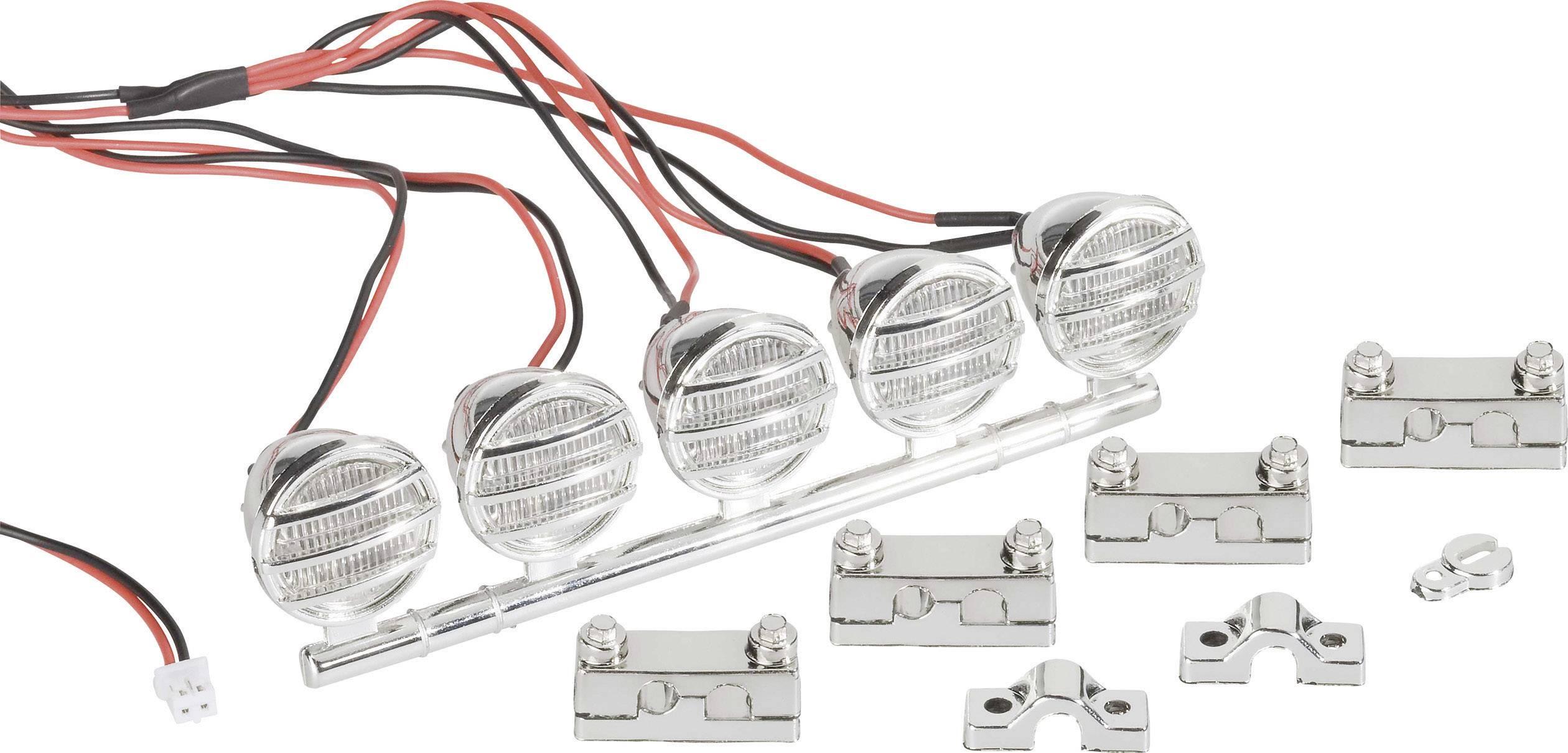LED osvetlenie pre modely Crawler Modelcraft LEDK-5