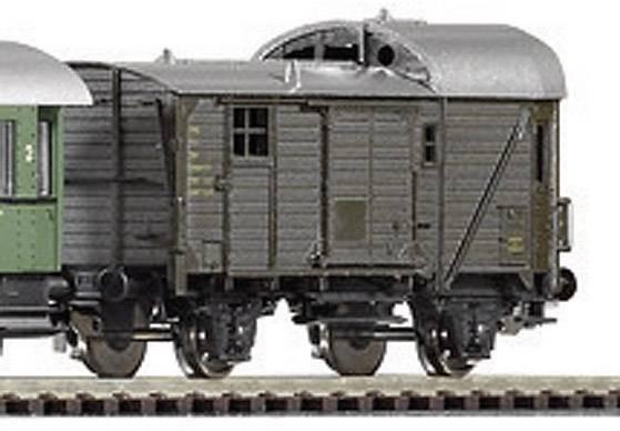 Štartovacia sada H0 osobného vlaku a parnej lokomotívy G7.1 Piko H0 57121