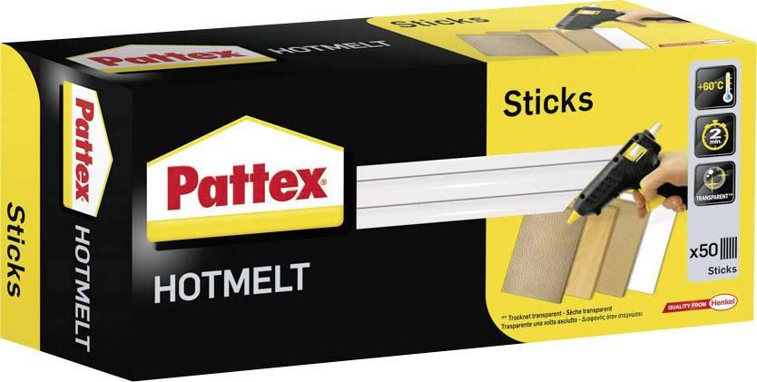 Lepicí tycinky pro tavnou pistoli Pattex transparentní, 11 mm