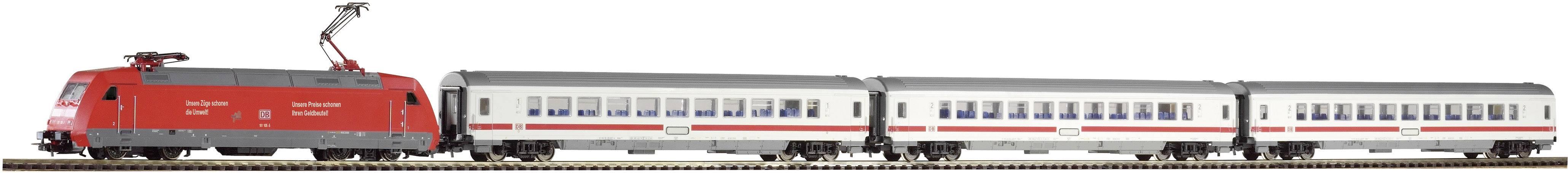 Startovací sada H0 osobního vlaku a elektrické lokomotivy řady 101 Piko 59100