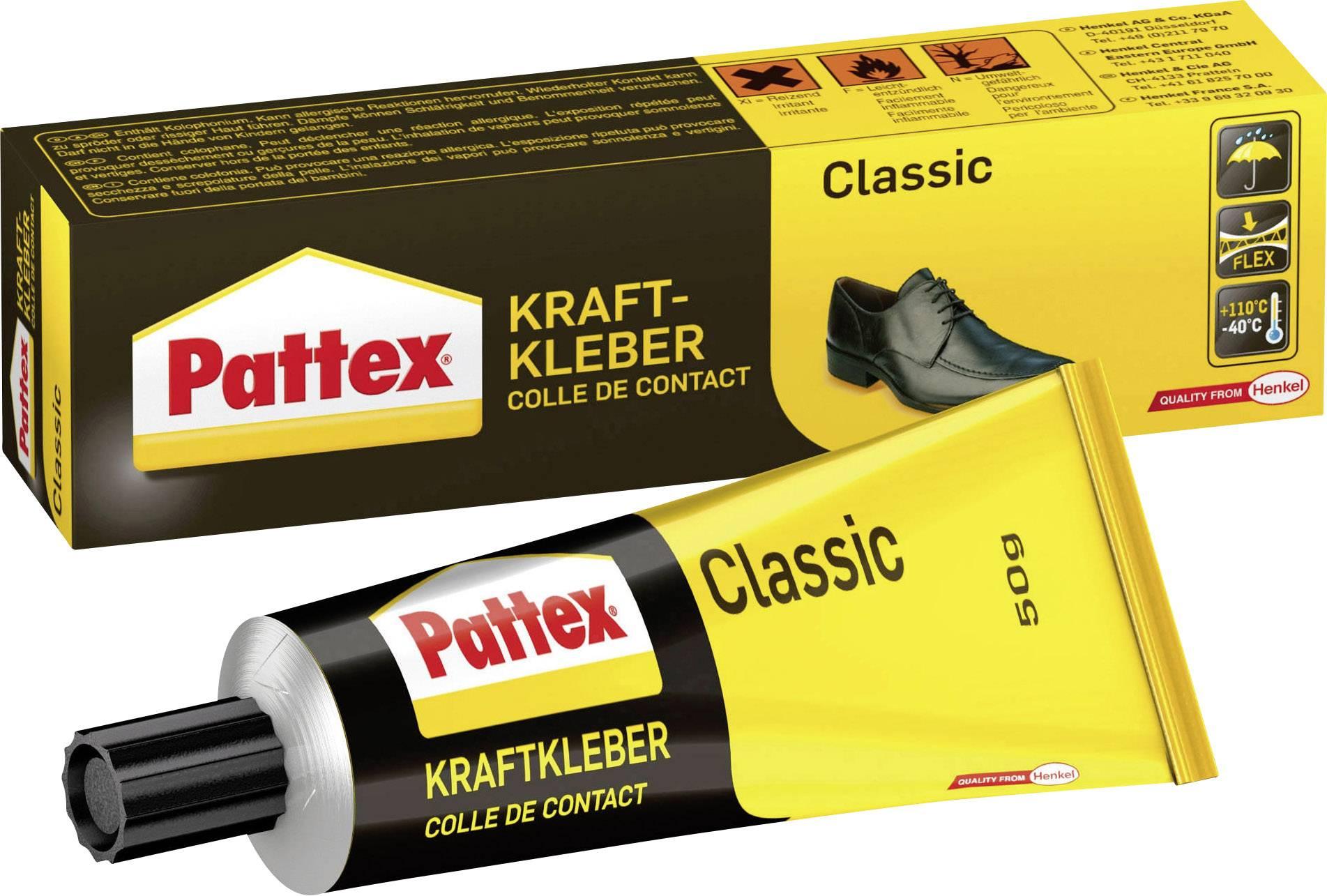 Kontaktné lepidlo Pattex Classic;PCL3C, 50 g