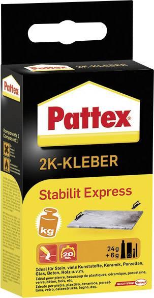 Dvojzložkové lepidlo Pattex Stabilit Express;PSE13, 30 g