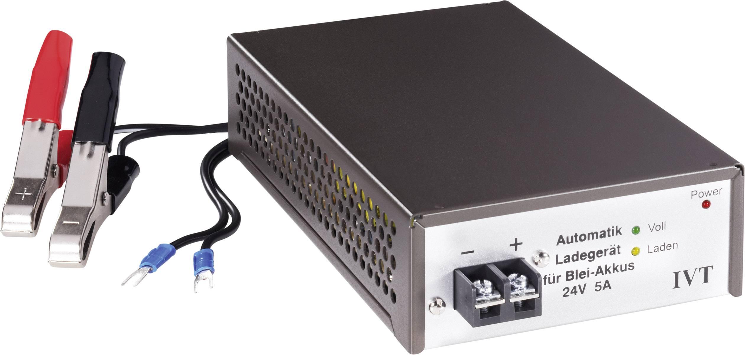 Automatická nabíjačka olovnatých akumulátorov 24V 5A