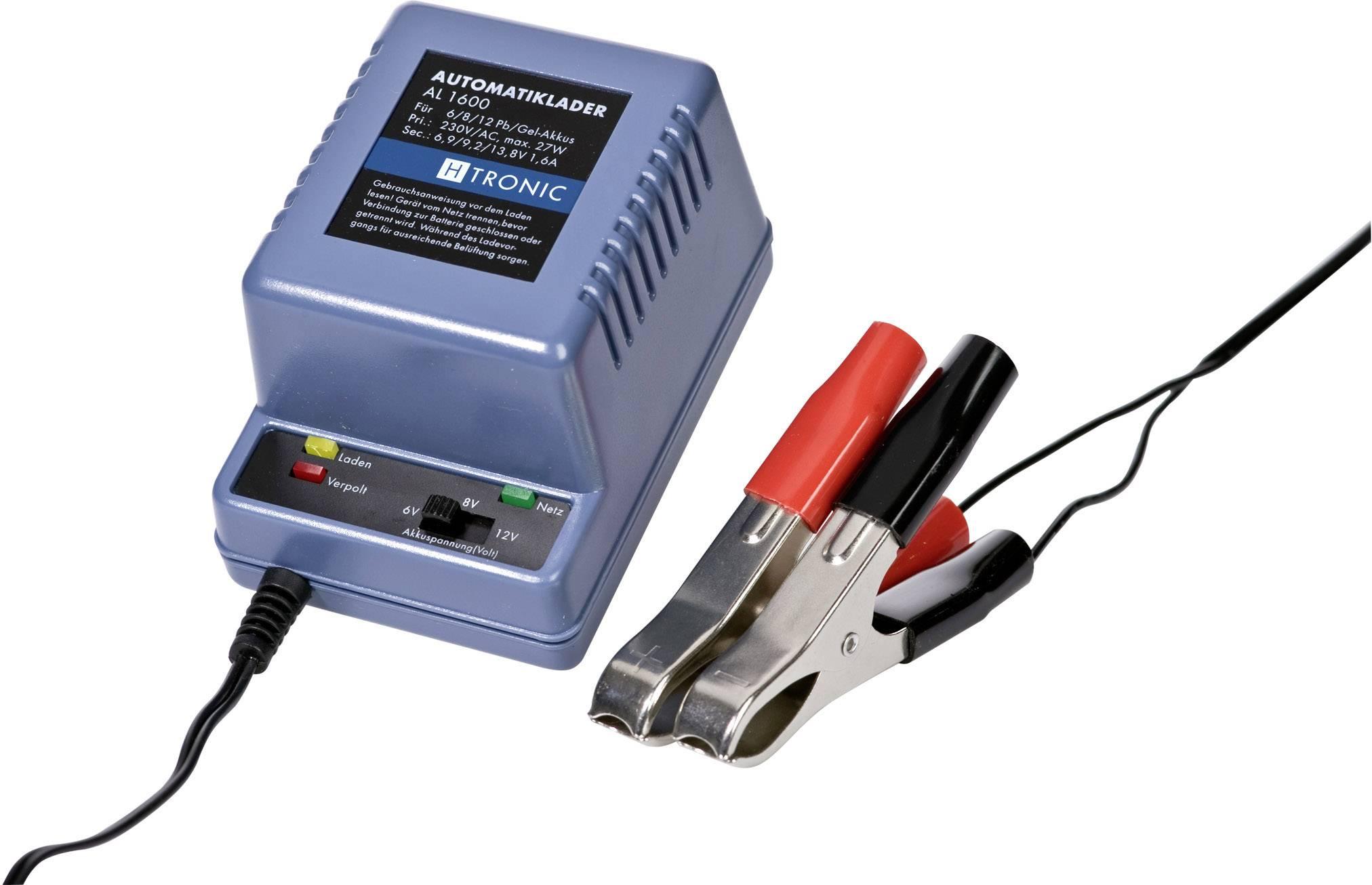Automatická zástrčková nabíjačka AL 1600