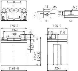 Bezúdržbové olovené akumulátory so špeciálnou technikou 12V/28Ah