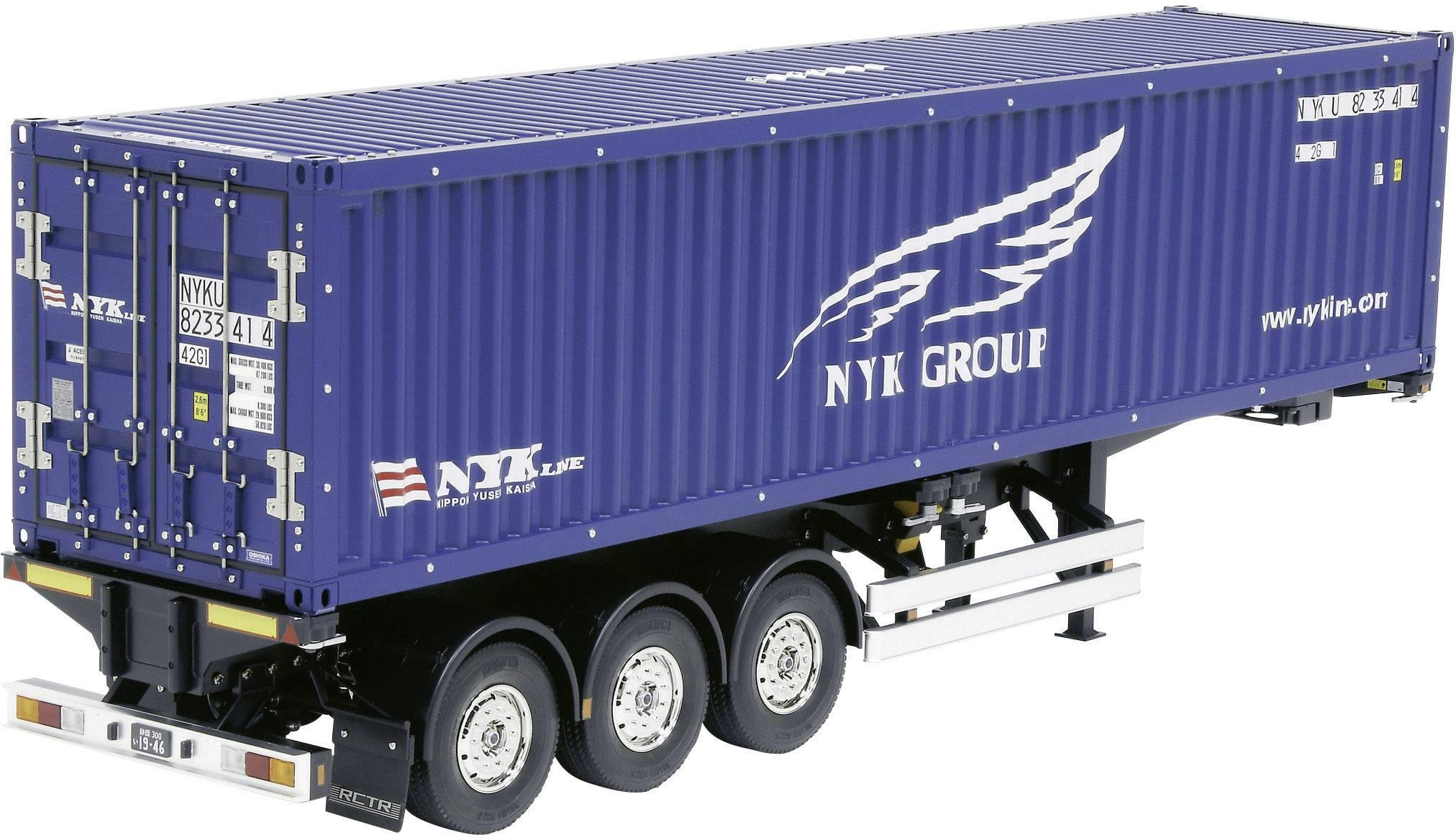 Kontajnerový náves - model Tamiya NYK 300056330, 1:14