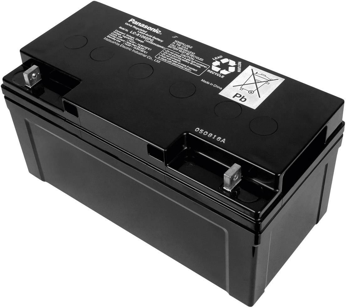 Olověný akumulátor, 12 V/65 Ah, Panasonic LC-X1265PG