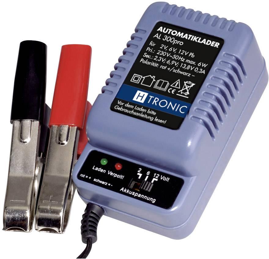 Nabíječka olověných akumulátorů H-Tronic AL 300, 2/6/12 V, 0,3 A