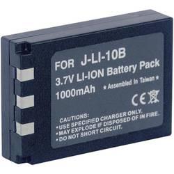 Náhradné batérie pre kamery Conrad Energy LI-10B / LI-11B / LI-12B, 3,7 V, 800 mAh