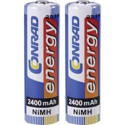 Akumulátor Conrad energy, NiMH, AA, 2400 mAh, 2 ks