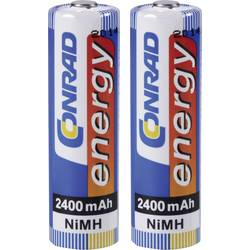 NiMH mignon akumulátory 2400mAh Conrad Energy, 2 kusy
