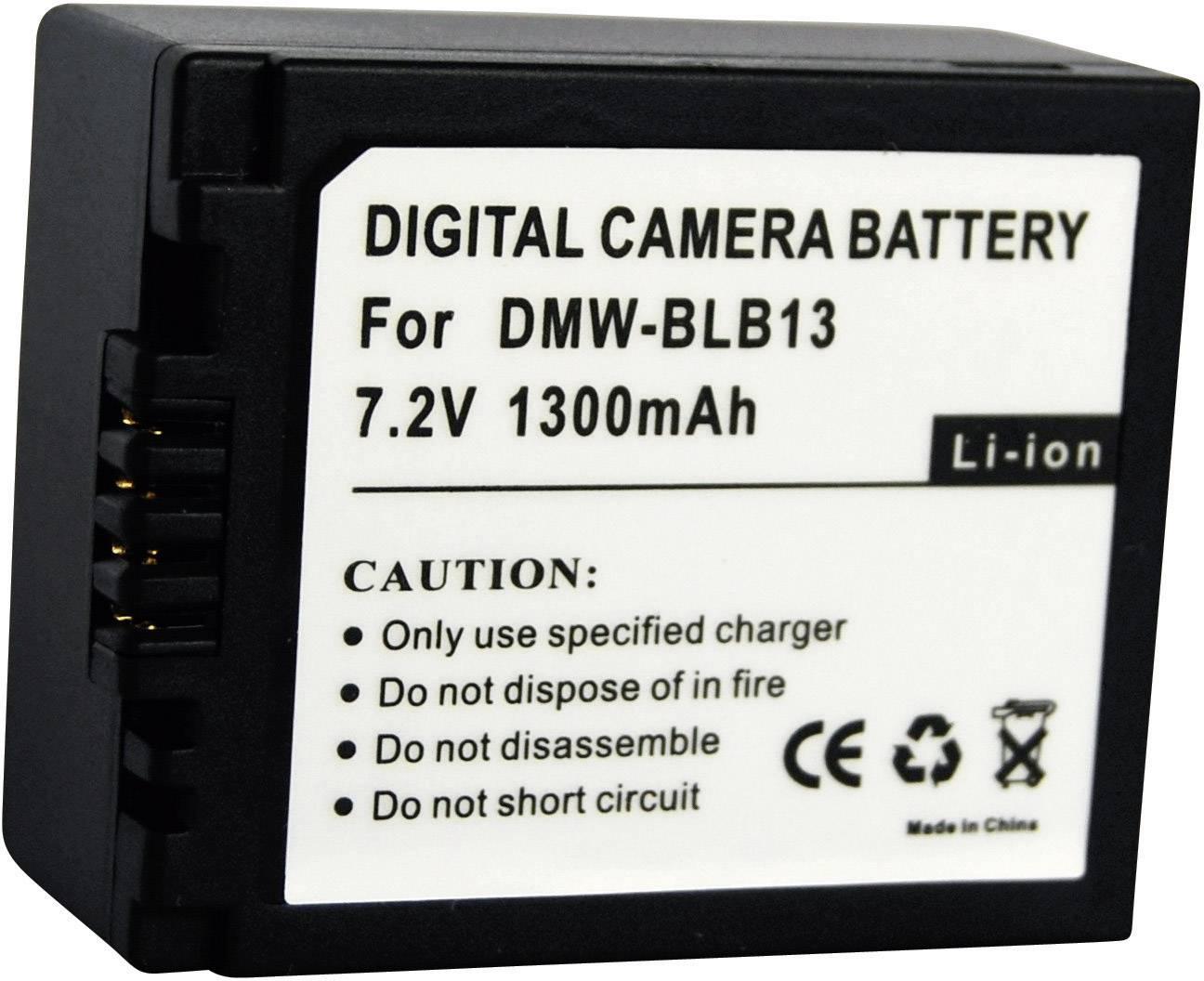 Akumulátor do kamery Conrad energy 250540 250540, 1000 mAh
