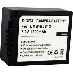 Náhradní baterie pro kamery Conrad Energy BLB13, 7,2 V, 1000 mAh