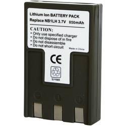 Li-Ion akumulátor pro videokameru CANON NP-1L, 3,7 V, 850 mAh, tmavě šedá