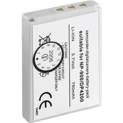 Akumulátor do kamery Conrad energy náhrada za orig. akumulátor NP-900 3.7 V 600 mAh