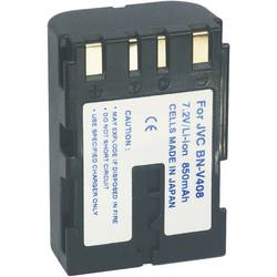 Li-Ion akumulátor pro videokameru JVC V408, 7,2 V, 1100 mAh, černá