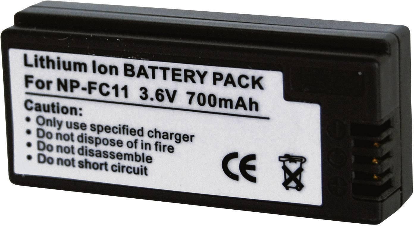 Akumulátor do kamery Conrad energy 250748 250748, 700 mAh