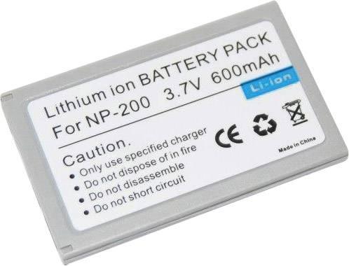 Akumulátor do kamery Conrad energy 250773 250773, 600 mAh