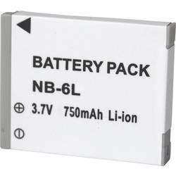 Náhradné batérie pre kamery Conrad Energy NB-6L, 3,7 V, 600 mAh