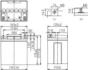 Olovnaté akumulátory odolné voči cyklom 12V 28AH