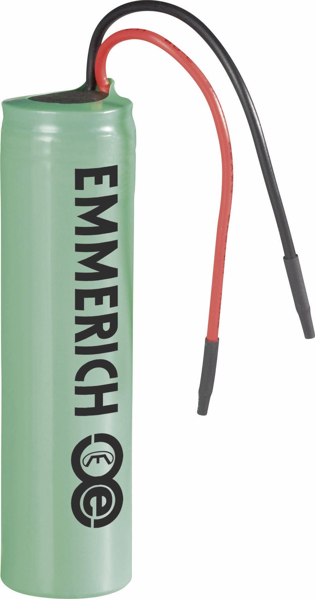 Špeciálny akumulátor Emmerich ICR-18650NQ-SP, 18650, Li-Ion akumulátor, 3.7 V, 2600 mAh