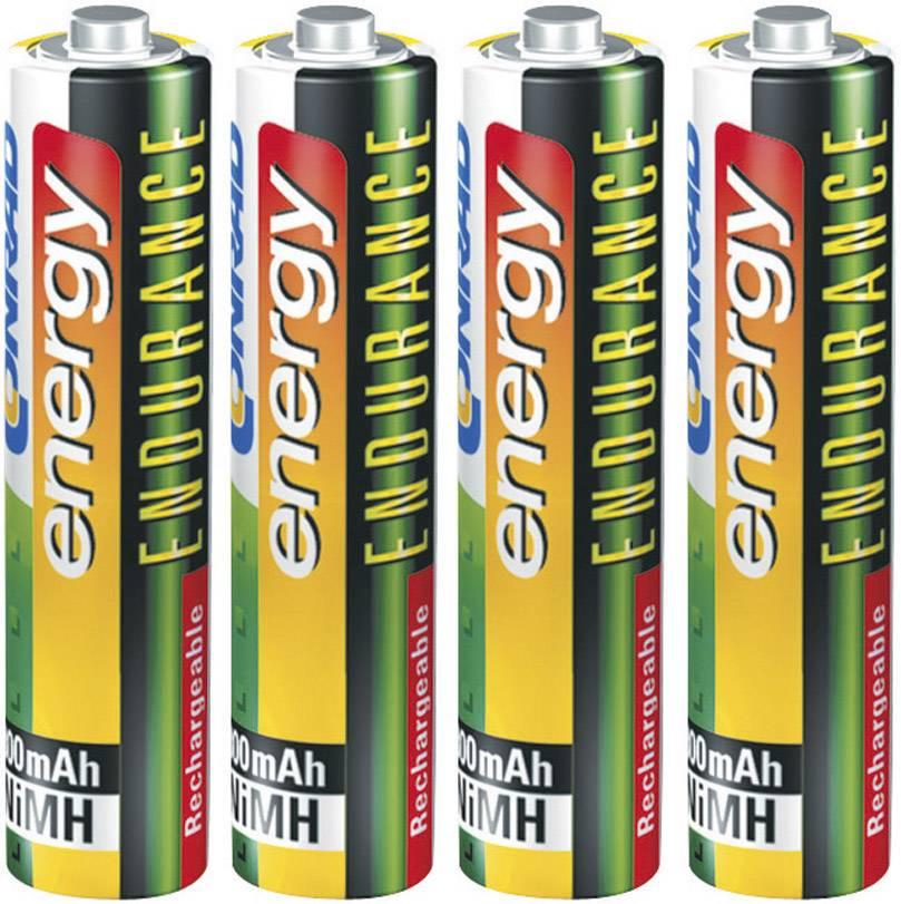 Akumulátor Conrad energy Endurance, NiMH, AAA, 1000 mAh, 4 ks