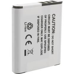 Náhradní baterie pro kamery Conrad Energy LI-50B/D-Li 92/DB-100, 3,7 V, 600 mAh