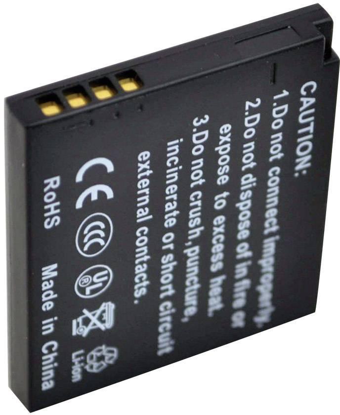 Akumulátor do kamery Conrad energy DMW-BCK7E, NCAYN101H DMWBCK7E, 550 mAh