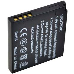 Náhradní baterie pro kamery Conrad Energy DMW-BCK7E/NCAYN101H, 3,7 V, 550 mAh
