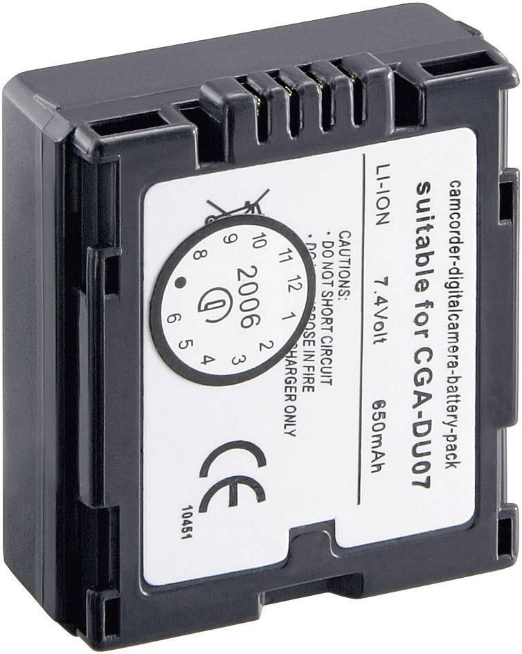 Akumulátor do kamery Conrad energy 251165 251165, 600 mAh