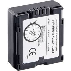Akumulátor pro Panasonic CGA-DU07/VW-VBD07/CP861, 251165, 7,2 V, 600 mAh