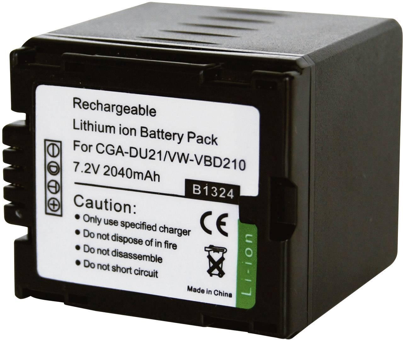 Conrad energy akumulátor pre Panasonic CGA-DU21E