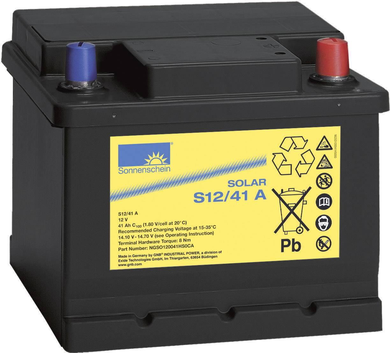 Solární akumulátor 12 V 41 Ah GNB Sonnenschein S12/41 A 8819864000