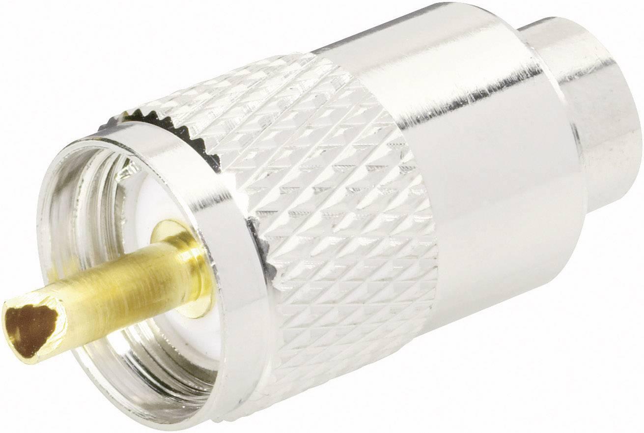UHF konektor BKL 406043, 50 Ω, zástrčka rovná