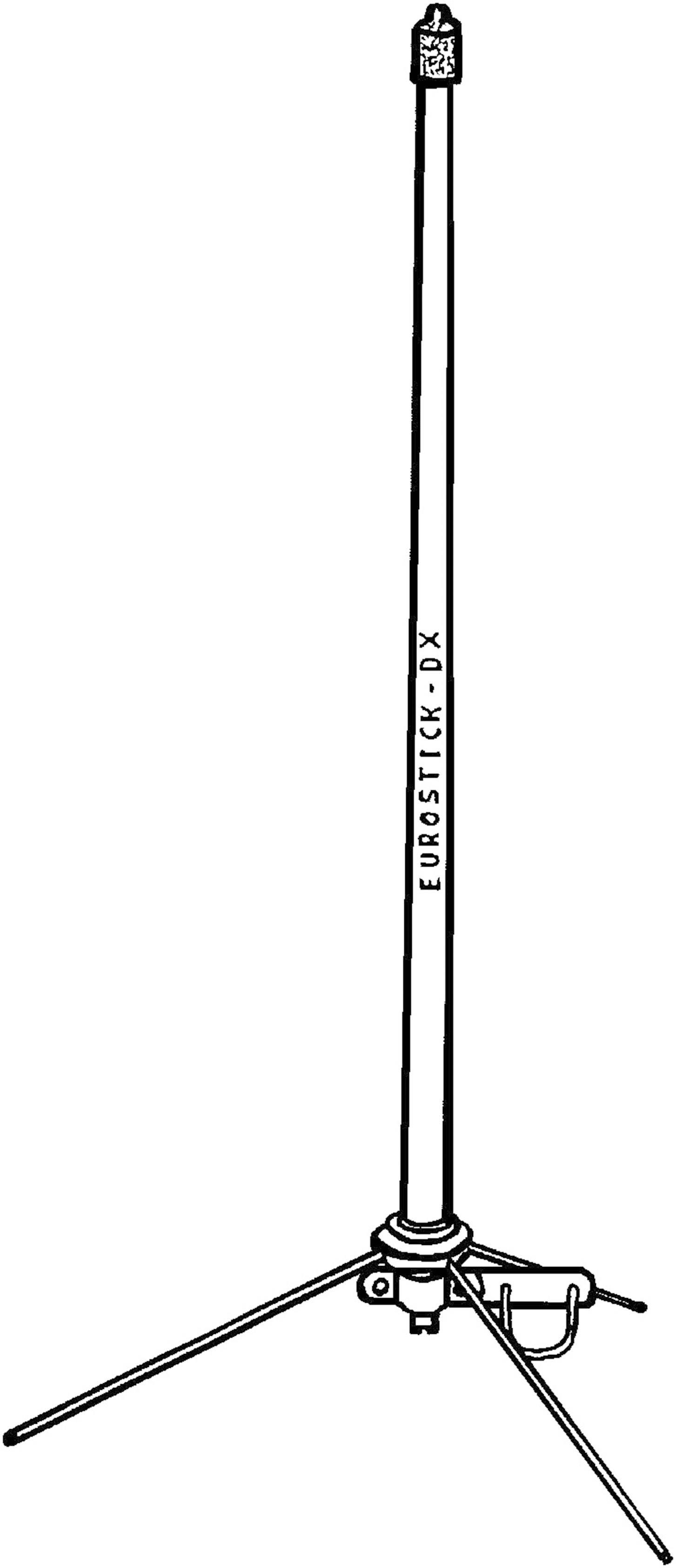 Rádiová stacionární anténa Eurostick DX