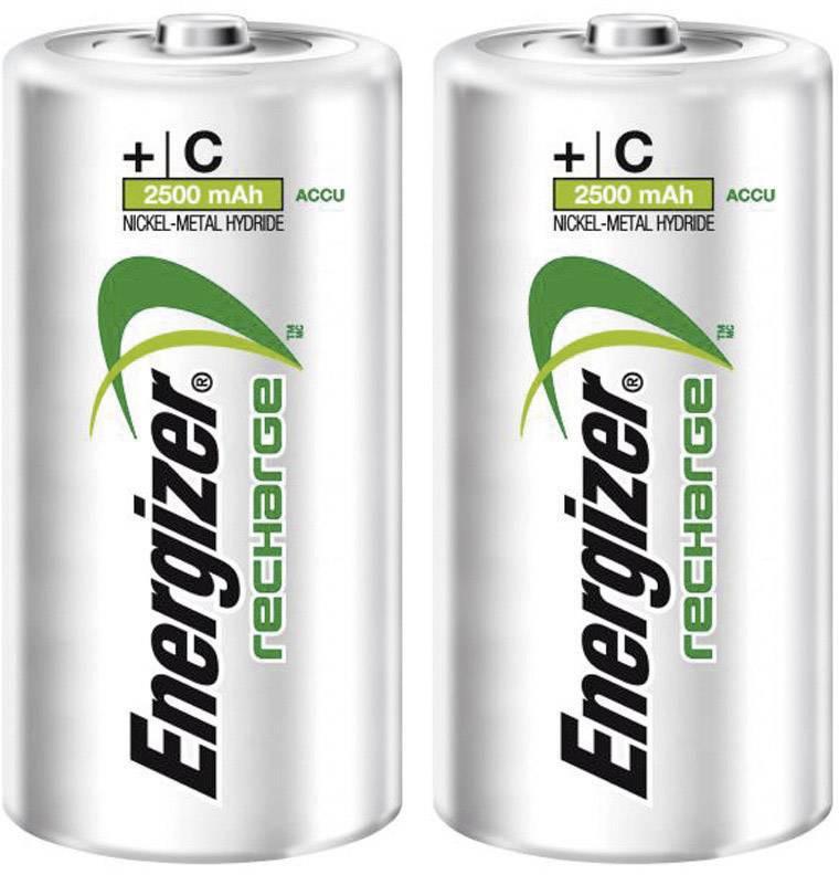 Akumulátor typu C NiMH Energizer Power Plus HR14 635674, 2500 mAh, 1.2 V, 2 ks