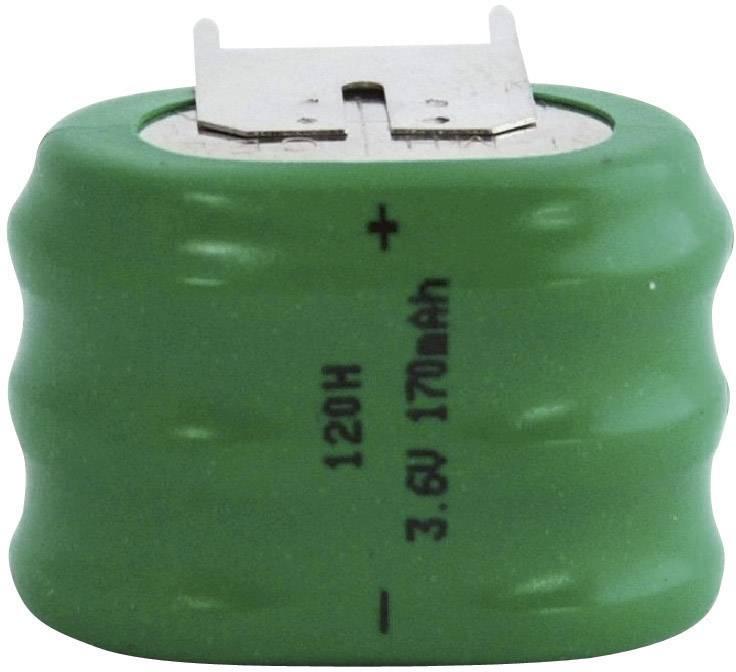NiMH knoflíkový článek Emmerich 3,6 V 120 H, SLF
