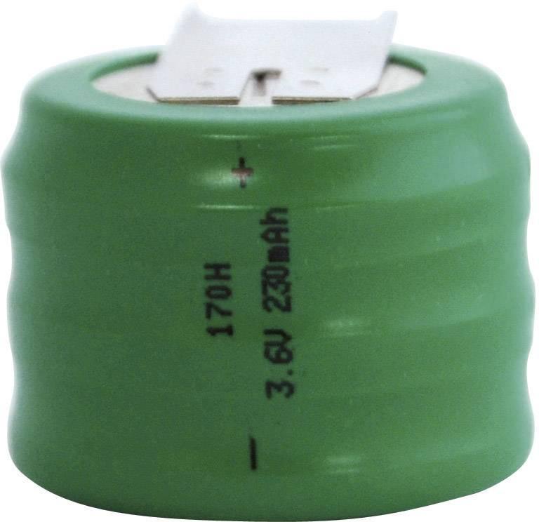 NiMH knoflíkový článek Emmerich 3,6 V 170 H, SLF
