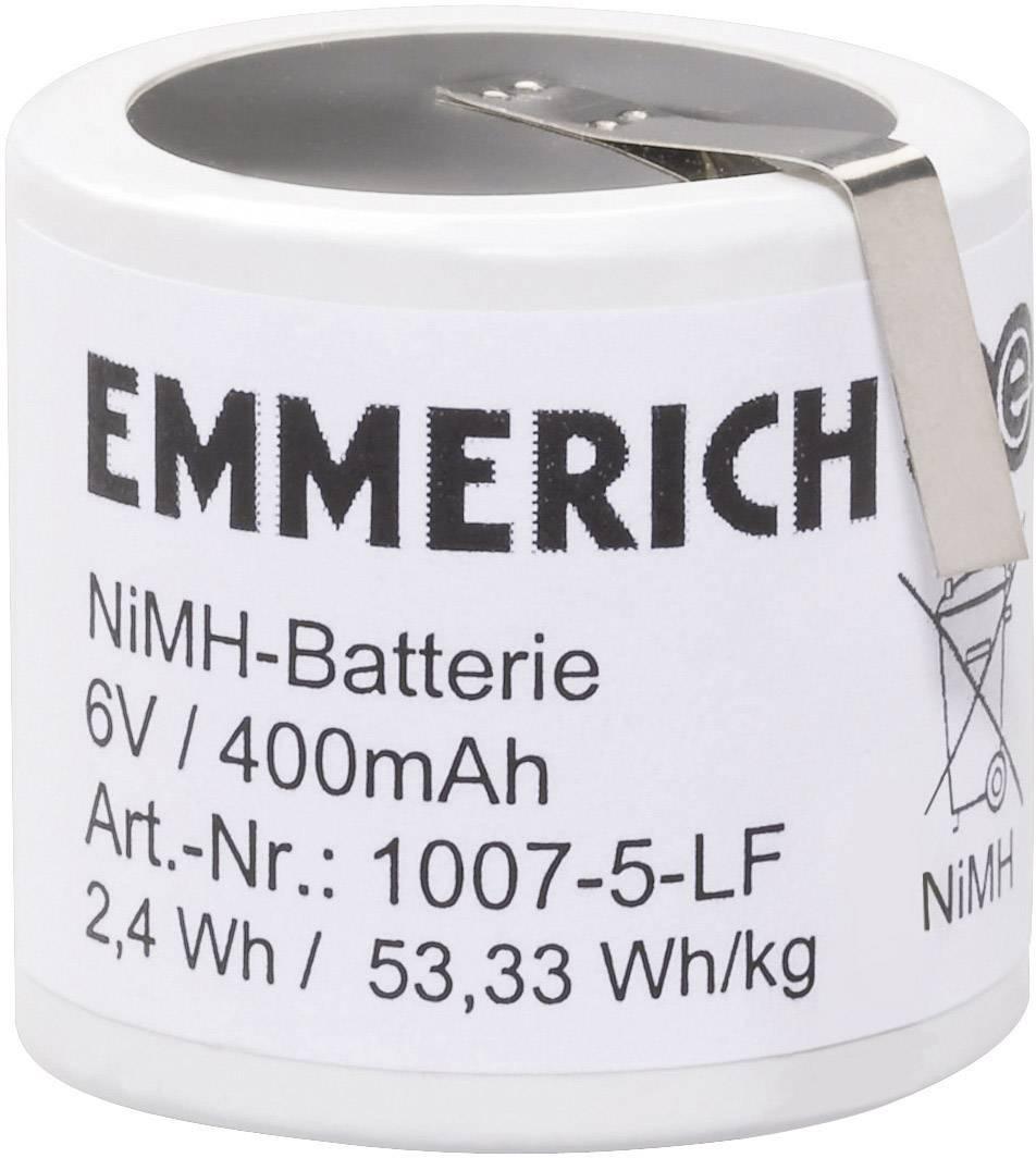 Akupack - sada nabíjacích batérií NiMH 5 špeciálny akumulátor Emmerich 251560, 400 mAh, 6 V