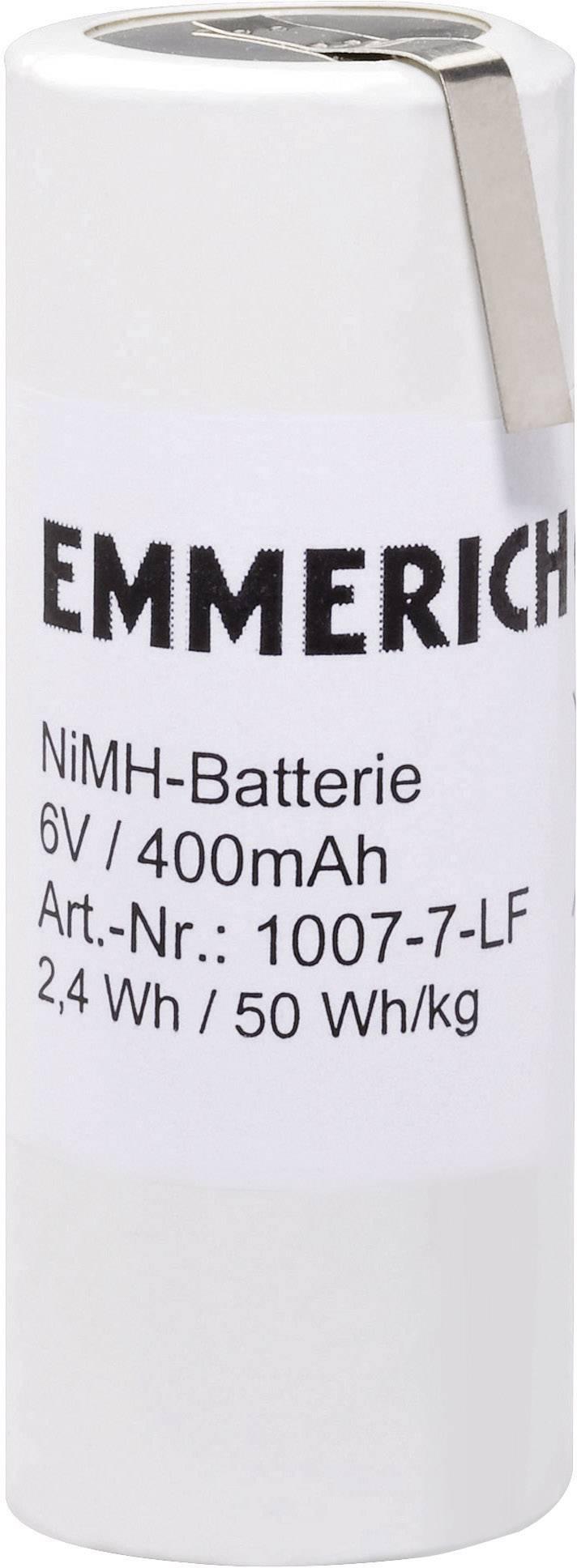 Akupack - sada nabíjacích batérií NiMH 5 špeciálny akumulátor Emmerich 251562, 400 mAh, 6 V