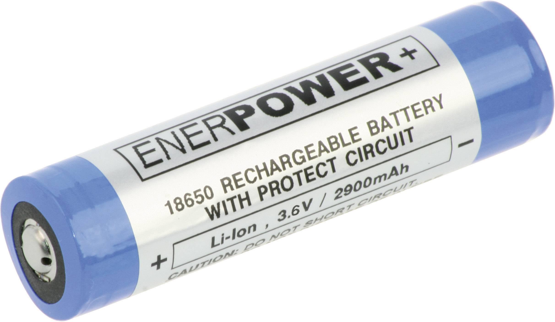 Špeciálny akumulátor EnerDan NCR18650-2,9AH7A-P, 18650, Li-Ion akumulátor, 3.6 V, 2900 mAh