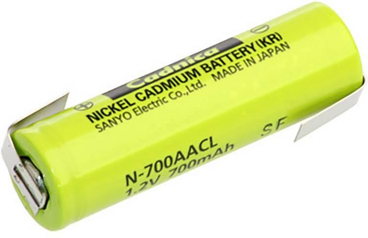 Špeciálny akumulátor Panasonic AA ZLF, mignon (AA), NiCd, 1.2 V, 700 mAh