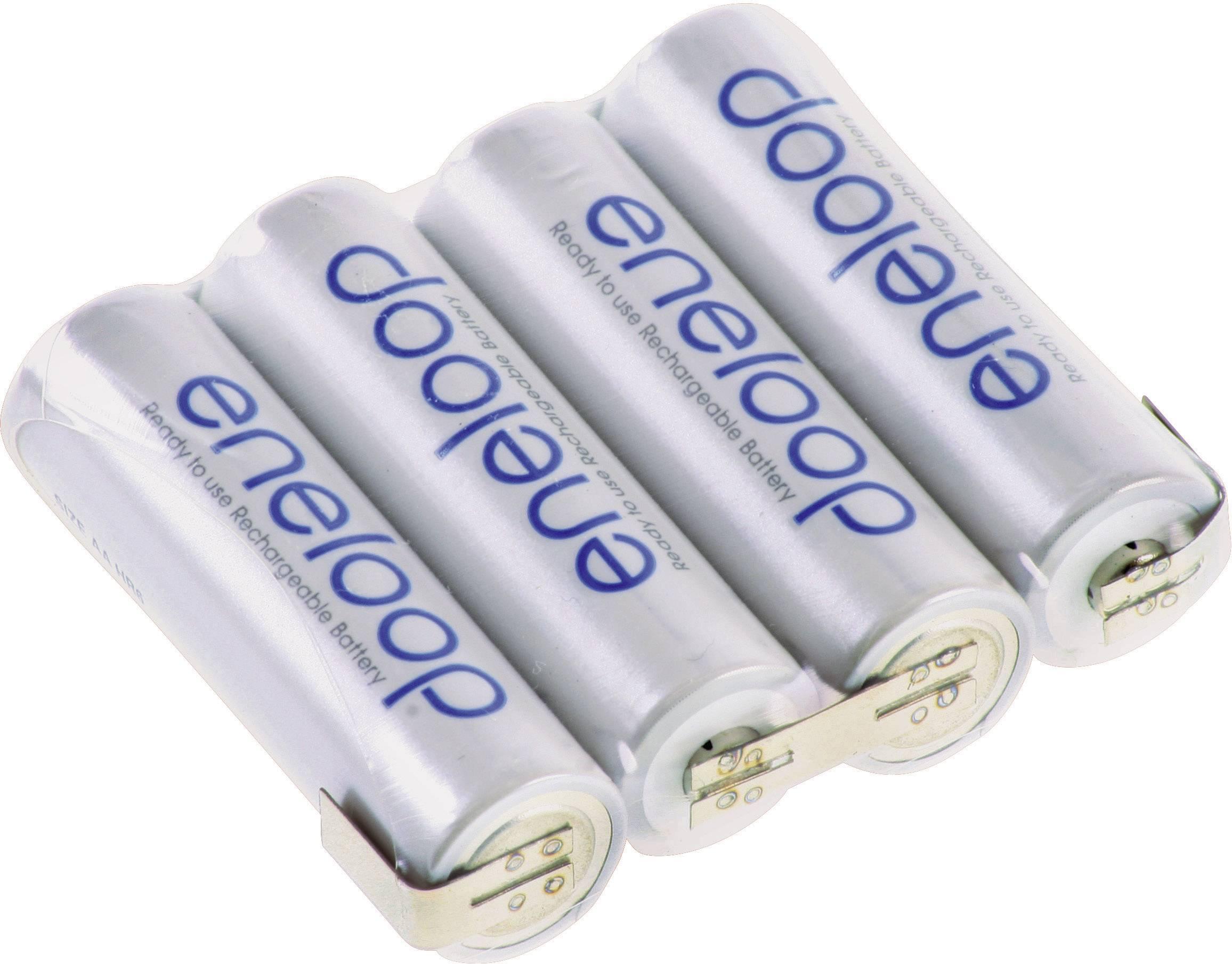 Akupack - sada nabíjacích batérií NiMH 4 mignon (AA) Panasonic eneloop Reihe F1x4 126822, 1900 mAh, 4.8 V